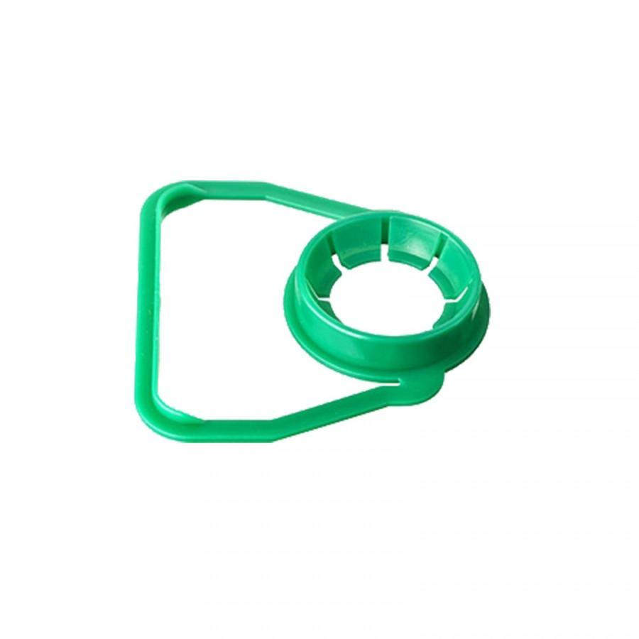 Ouško pro PET - zelená 120 ks