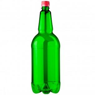 PET lahev 2 litry – zelená čistá