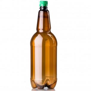 PET lahev 2 litry - hnědá Chmel