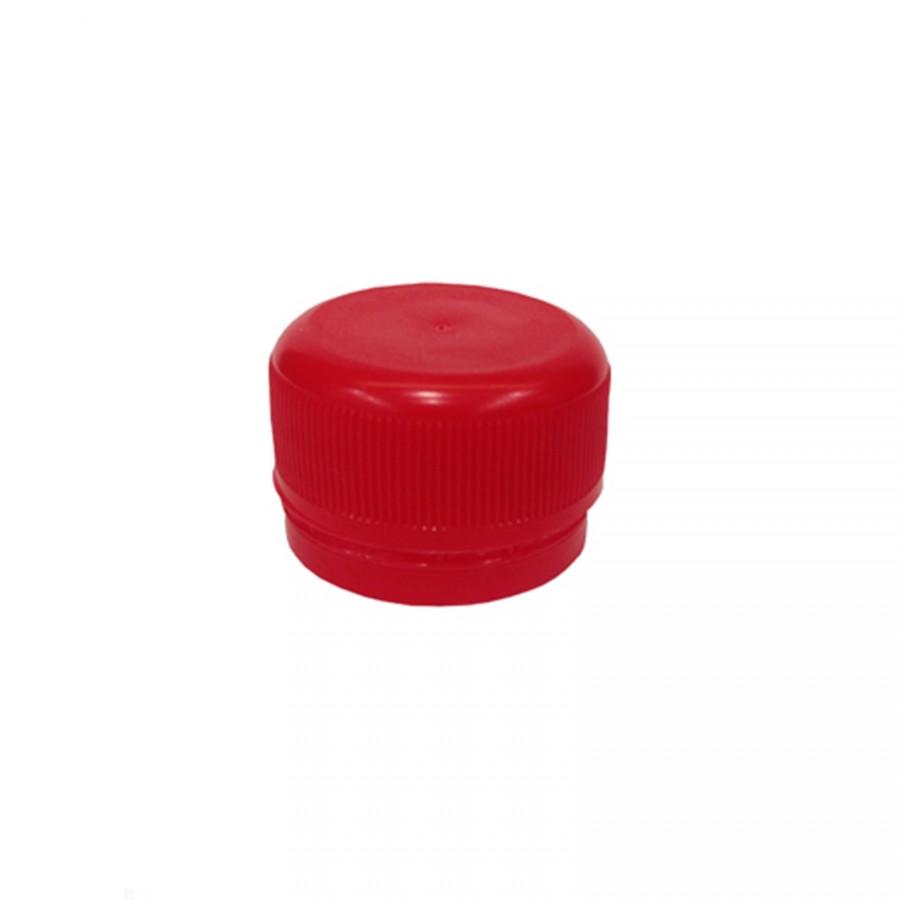 Víčko PET lahve - červená 120 ks