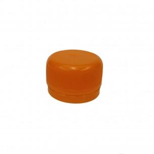 Víčko PET lahve - oranžová