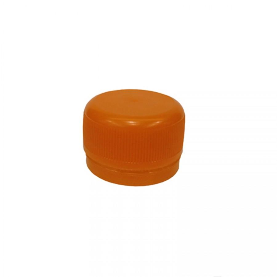 Víčko PET lahve - oranžová 120 ks