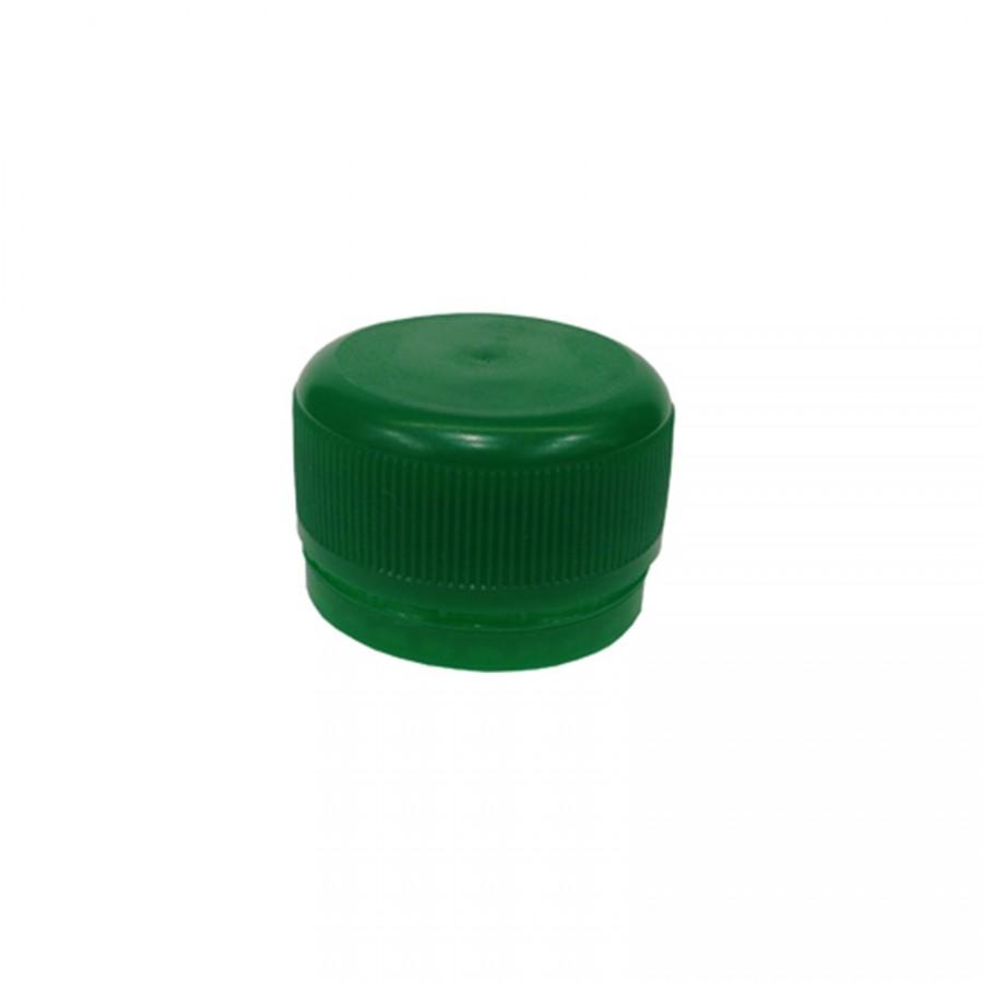 Víčko PET lahve - zelená 120 ks