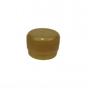 Víčko PET lahve - zlatá