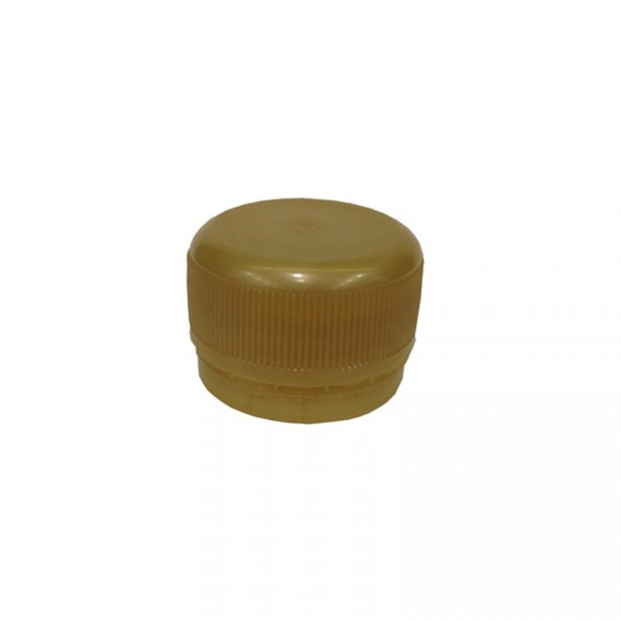 Víčko PET lahve - zlatá 120 ks