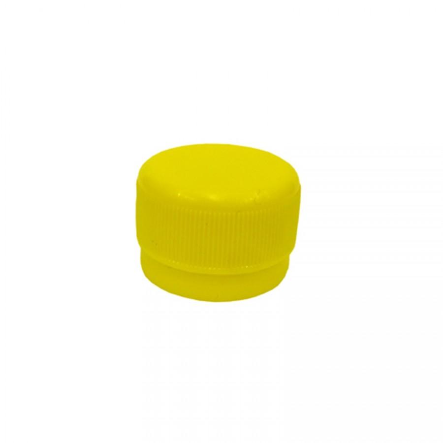 Víčko PET lahve - žlutá 120 ks