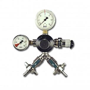 Redukční ventil CO2 dvouvývodový