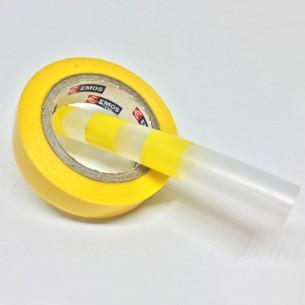 Bandážovací izolace žlutá, šíře 15 mm, délka 10 m