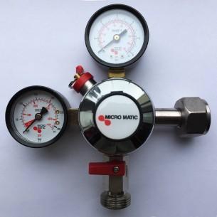 Redukční ventil CO2 mini jednovývodový