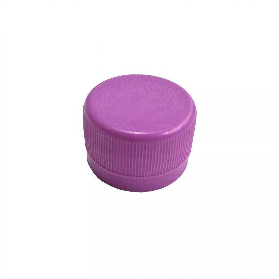 Víčko PET lahve - fialová 120 ks