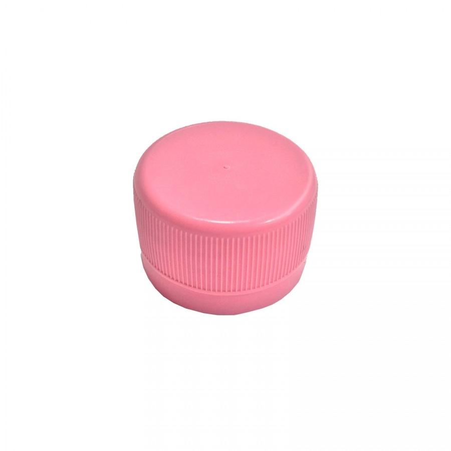 Víčko PET lahve - růžová 120 ks